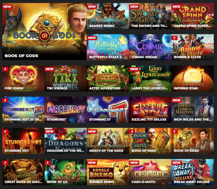 Different Game Types in Casino Games
